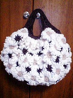 毛糸のバッグ2